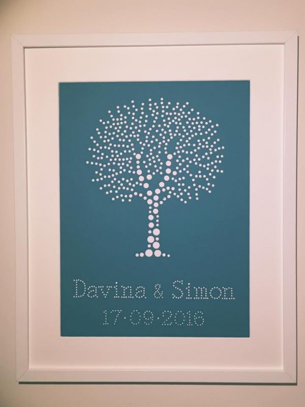 Personalised tree picture