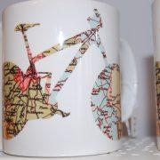 West Bridgford cycle mug