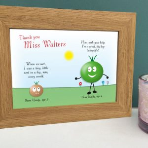Little seed thank you teacher print