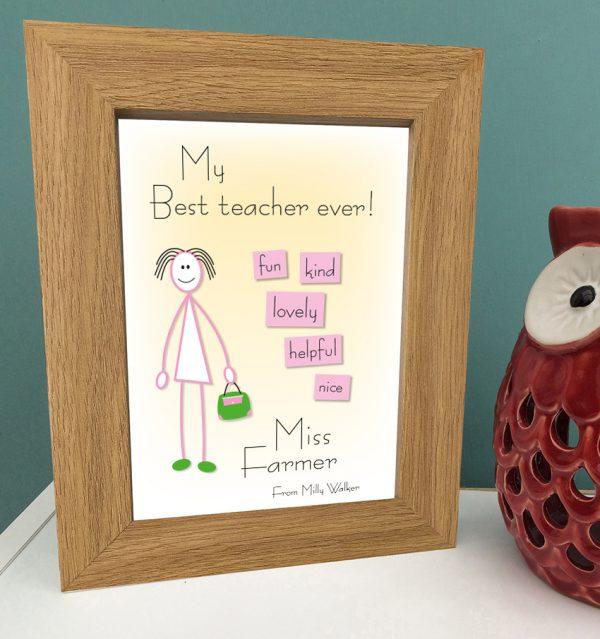 A5 BEST FEMALE TEACHER