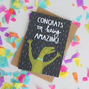 Congrats on Being Amazing Card