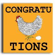 'CongratuLAYtions' greeting card