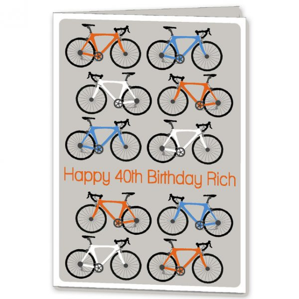 Personalised cycle card