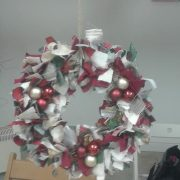 Rag wreath workshop