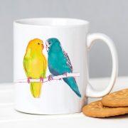 Love budgies mug