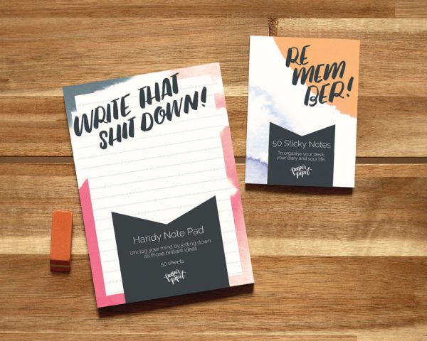 Mini lined notepad