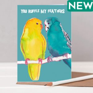 You Ruffle my feathers