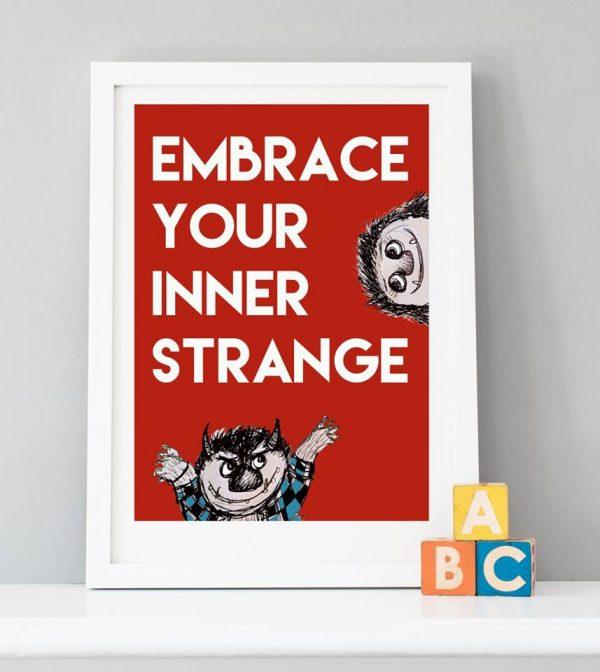 Embrace your inner strange print