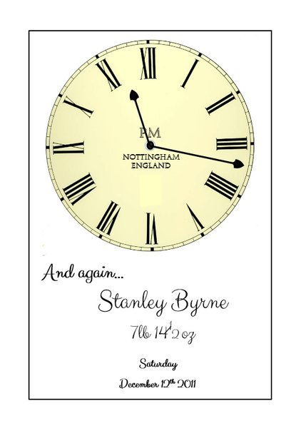 Time stood still again art print