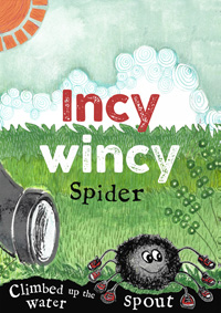 Incy wincy spider print