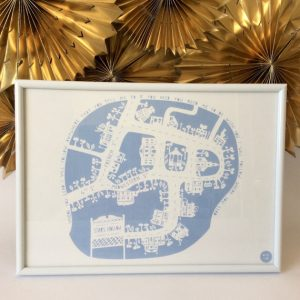 "Gilmore Girls ""Stars Hollow"" Papercut Print"