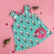 Panda bubble pocket dress