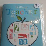 Teacher Apple Notebook – Thank You Gift