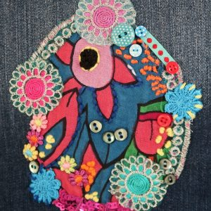 Sewing patches workshop