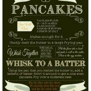 Personalised recipe print