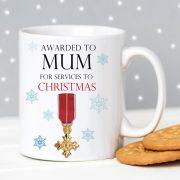 Mum OBE Christmas Mug