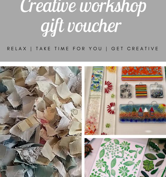 Workshop gift voucher
