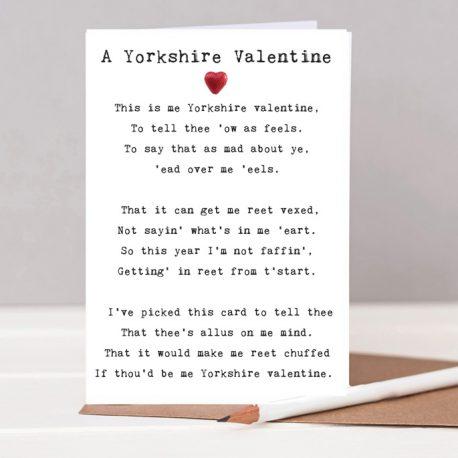 Yorkshire valentines