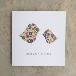 From your little one greeting card