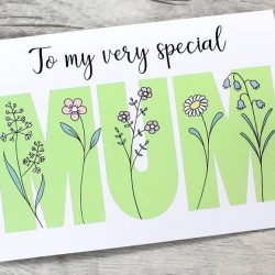 To my very special mum