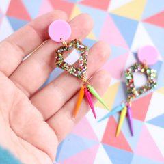 Circus Glitter Range – Diamond & Rainbow Spikes