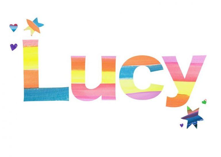 Personalised kid's name print