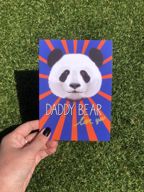 Daddy bear love you