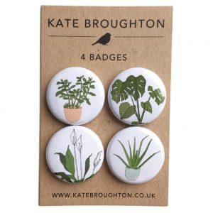 houseplant badges